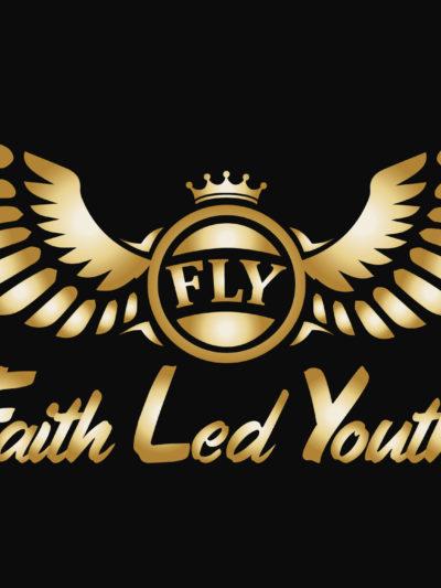 Faith Led Logo (Solid Gold)